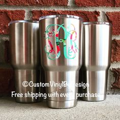 Ozark Tumbler • Comparable to Yeti for much less • 30oz monogrammed for $28.99 • Ships free everyday!