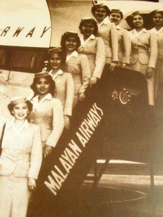 Malayan Airlines Stewardess