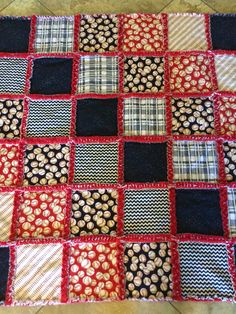 Baseball rag quilt for baby #2. Baseball Baby Blanket, Baseball Quilt, Baby Rag Quilts, Boy Quilts, Rag Quilt Patterns, Quilting Ideas, Quilted Gifts, Shirt Quilts, Cute Quilts