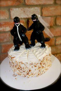 Godzilla Cake Topper