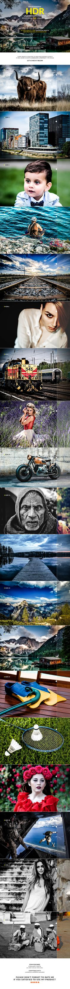Photography HDR-(V.3) Lightroom Presets — LRTemplate #photographer #black & white • Available here → https://graphicriver.net/item/photography-hdrv3-lightroom-presets/17852935?ref=pxcr