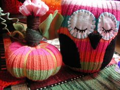 Sweater Pumpkins!