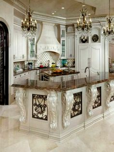 Woodlands Home by Sneller Custom Homes and Remodeling - Luxury Kitchen Remodel