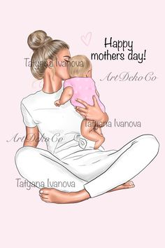 Family Illustration, Business Illustration, Graphic Illustration, Illustrations, Mother Clipart, Mom Clipart, Mother Daughter Quotes, Mother And Child, Drawing For Kids