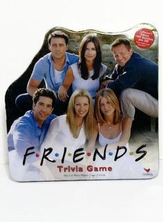 Friends Trivia Board Game 2002 Cardinal TV Show  Collectors Tin ***COMPLETE*** #Cardinal