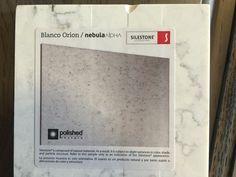 Silestone Quartz - Nebula Alpha - Blanco Orion  (at Marsh Cabinets)