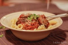Bison Bolognese - can use beef, veal or venison. #recipe