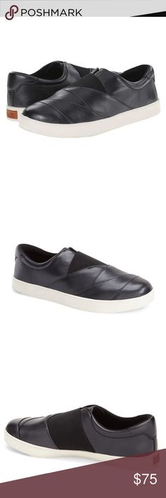 🎉SALE🎉 Slip-On Leather Sneakers by Dr. Scholl's Wrap your feet in luxurious comfort and edgy style with the Sienna slip-ons! The Dr. Scholl's slip-ons are designed for a smooth, comfortable ride and maximum flexibility! Removable memory fit foam insole offers the ultimate comfort! Slip-on style, leather and synthetic upper/synthetic lining/rubber sole. Dr. Scholl's Shoes Sneakers