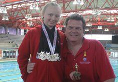 2016 KZN Junior championship - best 9-year-old female swimmer