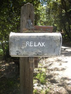 relax mailbox for home in the country