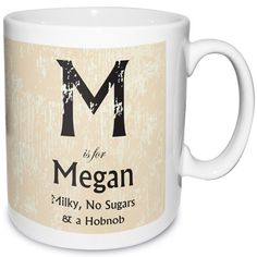 Personalised Rustic Style Mug  from Personalised Gifts Shop - ONLY £9.99