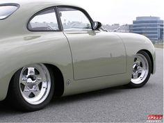Outlaw Porsche 356. Nice angle. See my earlier Pin below too. - more amazing cars here: http://themotolovers.com