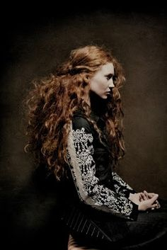 Red/Ginger curly hair - billy & hells | marlene ohlsson photograpy
