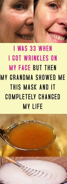 I WAS 33 WHEN I GOT WRINKLES ON MY FACE BUT THEN MY GRANDMA SHOWED ME THIS MASK AND IT COMPLETELY CHANGED MY LIFE #health #beauty #diy
