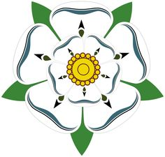 Other Flags Yorkshire Rose Sticker Adhesive Vinyl Patriotic County Decal Badge Flag Tudor Rose, Dinastia Tudor, Yorkshire Rose, Yorkshire England, North Yorkshire, Lancaster, House Of York, Anne Neville, Royals
