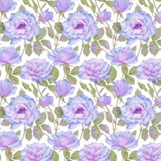 Keepsake Calico™ Cotton Fabric-Violet'S Fantasy White