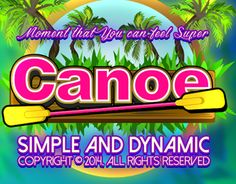 """Check out new work on my @Behance portfolio: """"Vector image Game art Canoe"""" http://on.be.net/1FfXUmD"""