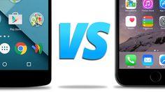Een video die de iphone vergelijk met een android phone. Deze video focus zicht puur op de functies