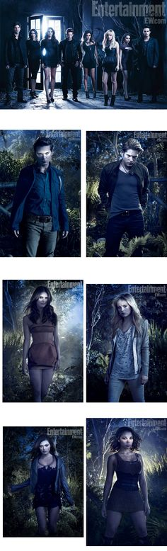 The Secret Circle - never saw the show, but absolutly loved the series... it was addicting