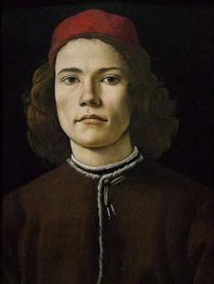 Portrait de jeune homme » (v. 1480), Sandro Botticelli