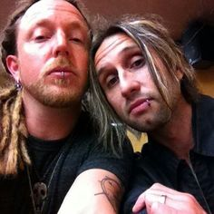 Shinedown - Barry and Eric