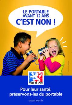cellulaire (enfants, portable, France, Lyon, 2008)
