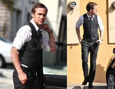 "Whenever I'm unsure of what to wear on any given occasion, I often ask myself, ""What would Ryan Gosling wear?"""