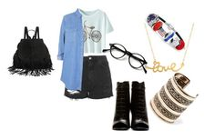 """""""Soldier"""" by timmology on Polyvore featuring Topshop, Yves Saint Laurent, Minnie Grace, MANGO and Bling Jewelry"""
