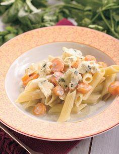 Cestoviny so syrom a s mrkvou - Recept pre každého kuchára, množstvo receptov pre pečenie a varenie. Recepty pre chutný život. Slovenské jedlá a medzinárodná kuchyňa