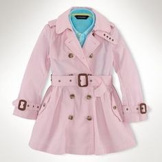 ShopStyle: Ralph Lauren Princess Trench Coat