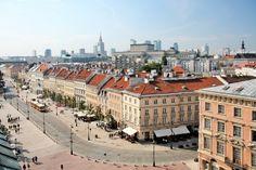 Krakowskie Przedmiescie Street Warsaw
