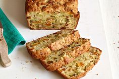 Our Favorite Zucchini Bread features a surprise ingredient that makes it super moist and tender—plus chopped nuts and dried fruit for extra flavor.