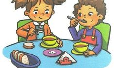 Preschool Tables, Manners For Kids, Kindergarten Activities, Kids Education, Clipart, Islam, Christmas Crafts, Children, Fictional Characters