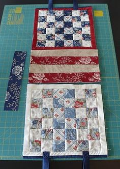 Quilted Tote Bag - No pictures during assembly - helpful picture