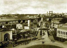 Beograd - 1940. -  most Kralja Aleksandra i Sajmiste