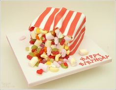 Image result for pick n mix birthday cake