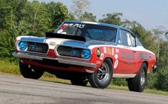 Sox & Martin 1968 Plymouth Barracuda Hemi BO29 Race Car