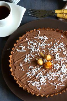 FoodFashionParty.com/*** Chocolate Tart