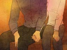 (Doodle) 크고 따뜻한 너의 손