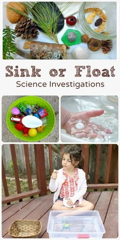Sink or Float Science Investigations for Toddlers and Preschoolers. Gabriel  would love this.