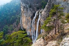 Spring - the time to admire the Crimean waterfalls! Photo Grid, Ukraine, Mountains, World, Places, Nature, Instagram Posts, Outdoor, Image