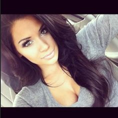 LOVE THE LONG HAIR this is what im going for:)