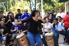 Dancing Bomba and Salsa in Puerto Rico