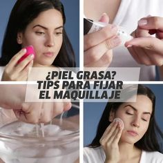Uses For Saline Solution You May Have Never Thought About Oily skin Check out these tips for long lasting makeup!Oily skin Check out these tips for long lasting makeup! Makeup Tips For Oily Skin, Skin Tips, Skin Care Tips, Skincare For Oily Skin, Beauty Care, Beauty Skin, Beauty Hacks, Beauty Tips For Face, Daily Beauty