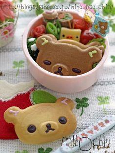 Rilakkuma pancake bento ♥ Bento
