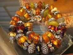 Trollbeads Amber necklace