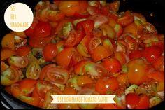 Seashell Pasta in Homemade Tomato Sauce #recipe