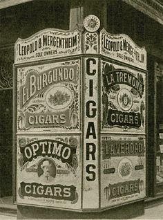 Great classic cigar sign