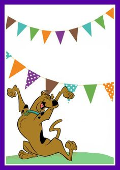 Free Scooby Doo photo props Scooby Doo Party Pinterest Free