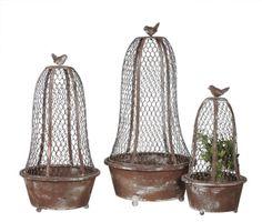 bird cloches